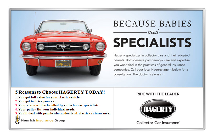 Hagerty's Collector Car Insurance