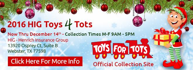 Toys 4 Tots DriveDrive