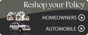 Reshop your auto or home policy